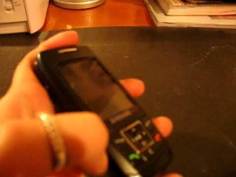Samsung SGH-E250 test