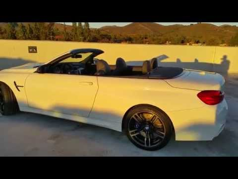 NEW BMW M4 CONVERTIBLE REMOTE TOP OPEN FEATURE BMW Review