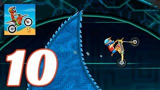 Moto X3M Bike Race Game - Gameplay Android & iOS game - CYBER WORLD