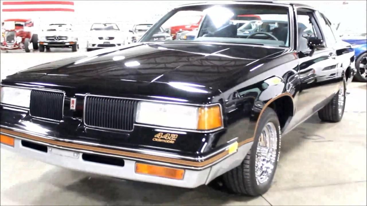1987 Oldsmobile 442 Black