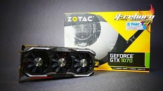 zotac gtx 1070 amp extreme edition ทดสอบบน i5 6500 i3 6100 fx 8370 a8 7670k ปร บส ดท กอย าง