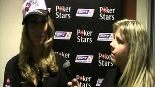 European Poker Tour Loutraki: Vanessa Rousso Interview (poker player)(H Vanessa Rousso μιλά στην Σπυριδούλα Ζέρβα του http://www.pokerlobbygr.com/ αμέσως μετά τον αποκλεισμό της στην Day 1B του EPT Loutraki..., 2011-11-16T15:55:08.000Z)