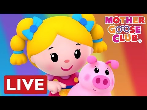 Songs for Children | Twinkle Twinkle + more | LIVE Mother Goose Club | NEW Animated Baby Songs 2017