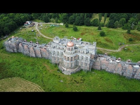 Abandoned Billionaires Mansion (The Devil's Palace) Largest Mansion In UK
