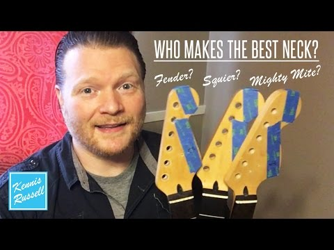 Guitar Neck Shootout: Fender vs Squier vs Mighty Mite