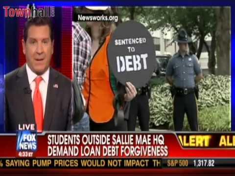 Elisabeth Meinecke on Cavuto  Students Demand Loan Debt Forgiveness