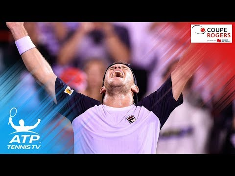 Diego Schwartzman best shots & match point in Dominic Thiem win | Coupe Rogers Montreal 2017