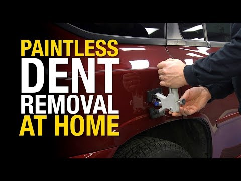 How to Remove Dents from a Car Without Damaging the Paint – Paintless Dent Repair – Eastwood