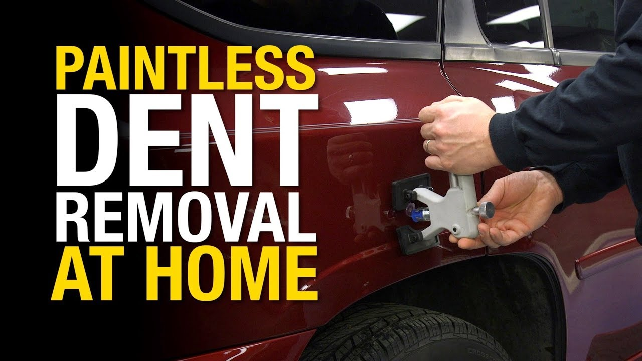 How To Remove Dents From A Car Without Damaging The Paint Paintless Dent Repair Eastwood