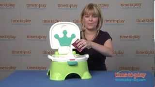 Fisher Price Royal Stepstool Potty Blue W4119 Фишер Прайс reviev05