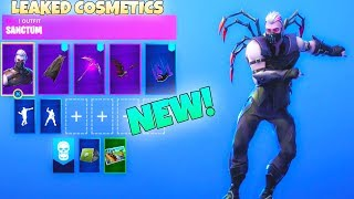 NEW! VAMPIRE SKIN *Sanctum* with UNRELEASED COSMETICS/DANCE EMOTES (Showcase) Fortnite Battle Royale