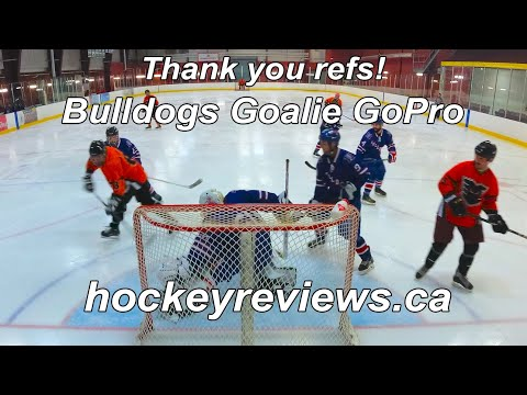 Thank You Refs! Bulldogs Hockey Goalie Beer League GoPro