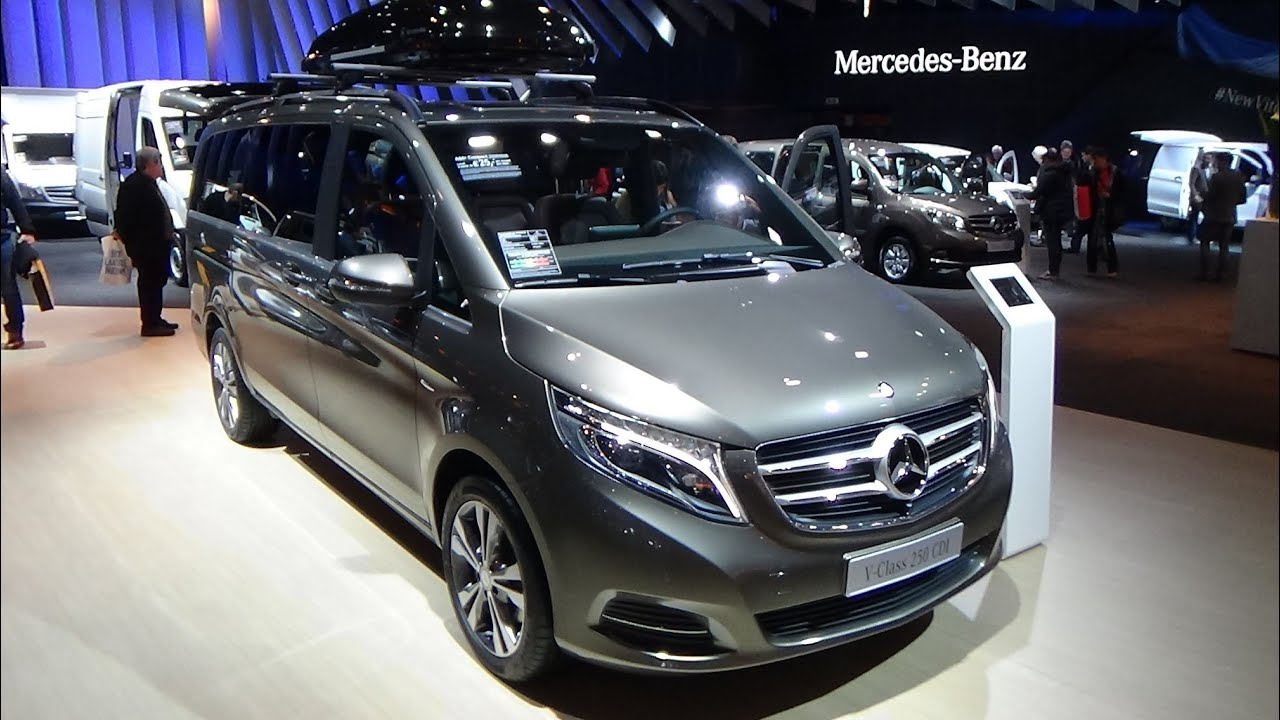 2015 mercedes benz v 250 blue tec avantgarde auto show. Black Bedroom Furniture Sets. Home Design Ideas