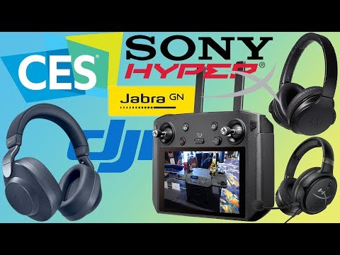 CES 2019 - Sony's Failed Press Conference, New ANC Headphones From Jabra And Audio-Technica