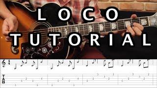 "Como tocar ""Loco"" de Enrique Iglesias Ft. India Martínez (Acústica) Tutorial Guitarra ACORDES (HD)"