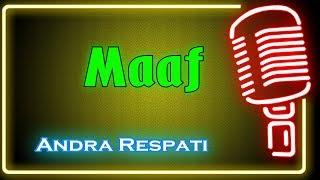 Maaf (Karaoke Minang) ~ Andra Respati
