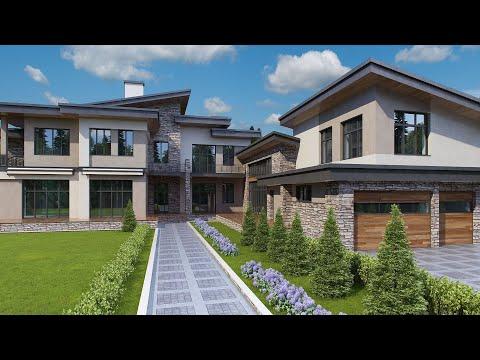 Проект дома в средиземноморском стиле