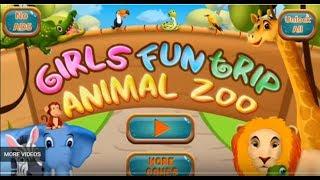 Girls Fun Trip - Animal Zoo Game -Fun baby care zoo game - Zoo animal and lots of fun