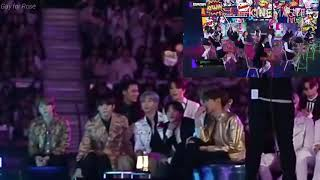 BTS Reaction to ITZY Dalla Dalla+Icy MAMA 2019