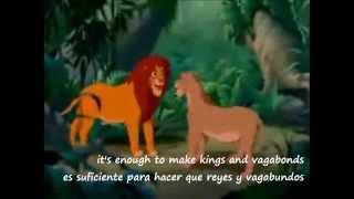 El Rey León: Can you feel the love tonight - Elton John (Subtitulado)