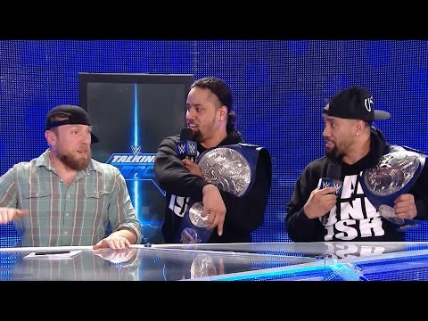 Thumbnail: Daniel Bryan and The Usos form a rap group?: WWE Talking Smack, March 21, 2017