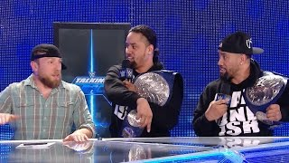 Daniel Bryan and The Usos form a rap group?: WWE Talking Smack, March 21, 2017