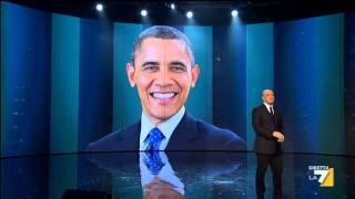 Crozza nel Paese delle Meraviglie - Crozza - Obama nel Paese delle Meraviglie