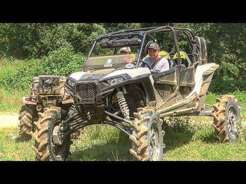 """Monster RZR on 40s and 6"""" Portals Makes It Look EASY"""