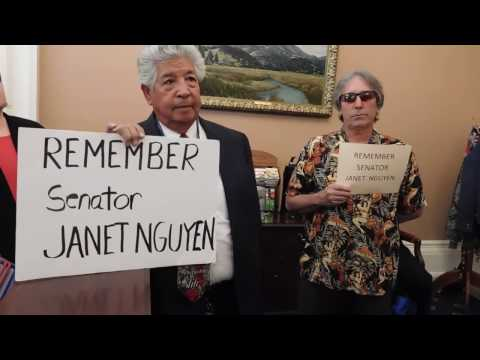Citizens Demand CA Senate President Kevin de Leon APOLOGIZE To Senator Nguyen