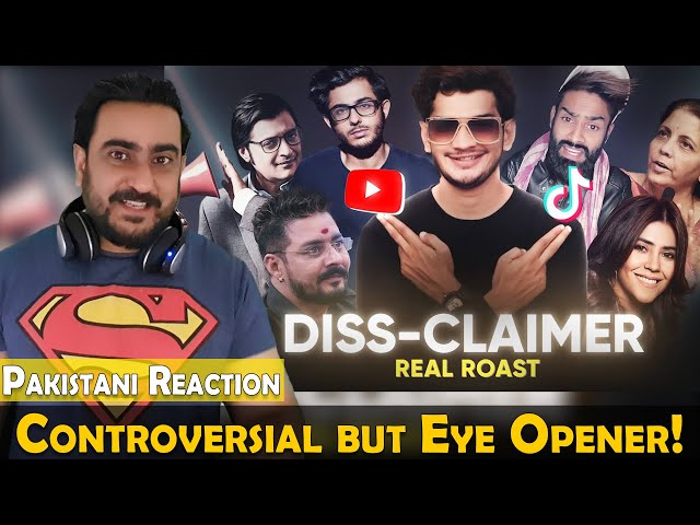DISS-CLAIMER | REAL ROAST OF CARRY MINATI | Munawar Faruqui | IAmFawad Reaction