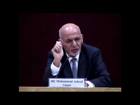 Q&A Session with HE Mohammad Ashraf Ghani, President of the Islamic Republic of Afghanistan
