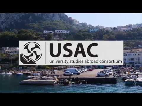 USAC Study Abroad Ad
