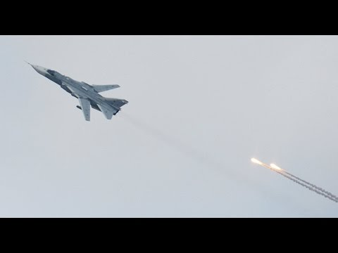 Turkey F-16 Shot Down a Russian Military Plane su 24 Who Violated Its Airspace November 24 2015