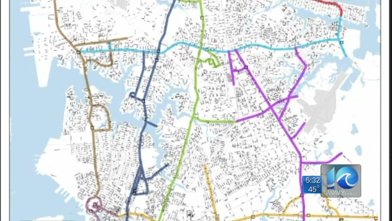 Anita Blanton on new Norfolk snow routes - YouTube