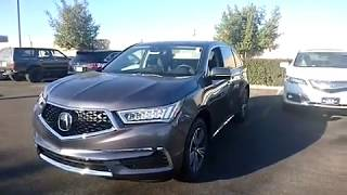 Quick Look 2018 Acura MDX Standard: WHAT YOU GET