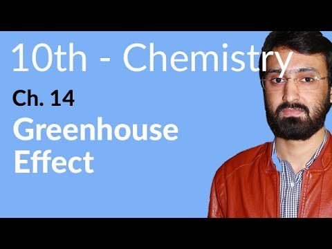 10th Class Chemistry ch 14,Greenhouse Effect-Matric Part 2 Chemistry
