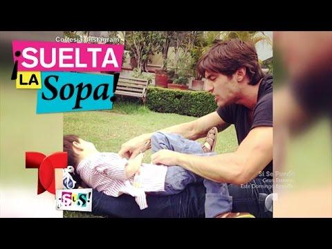 Suelta La Sopa  Osvaldo de León enfrenta pleito legal por su hijo  Entretenimiento