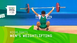 Jongju Pak Wins 62kg Weightlifting Gold - Highlights | Nanjing 2014 Youth Olympic Games