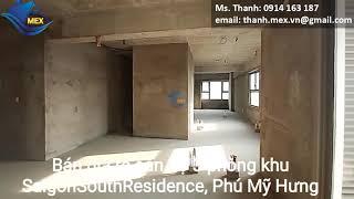 Sài Gòn South Residence Phú Mỹ Hưng, rẻ đẹp, dễ thiết kế lầu cao, view sông, hồ bơi- 0914163187