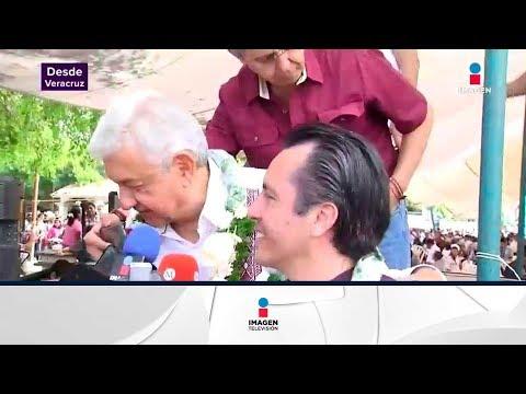 Yunes no enfrentó a López Obrador   Noticias con Yuriria Sierra