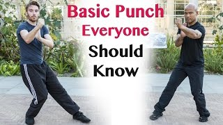 Basic Punch Everyone Should Know | Wing Chun