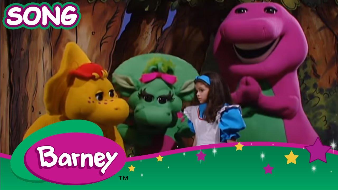 Barney Barneys Tea Party Song Youtube
