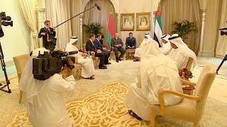 Переговоры Лукашенко с наследным принцем Абу-Даби прошли в столице ОАЭ