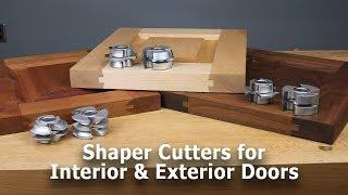 Shaper Cutters Make It Easy To Build Custom Passage And Entry DoorsRail U0026  Stile Shaper Cutters For Interior U0026 Exterior Doors More Info: ...