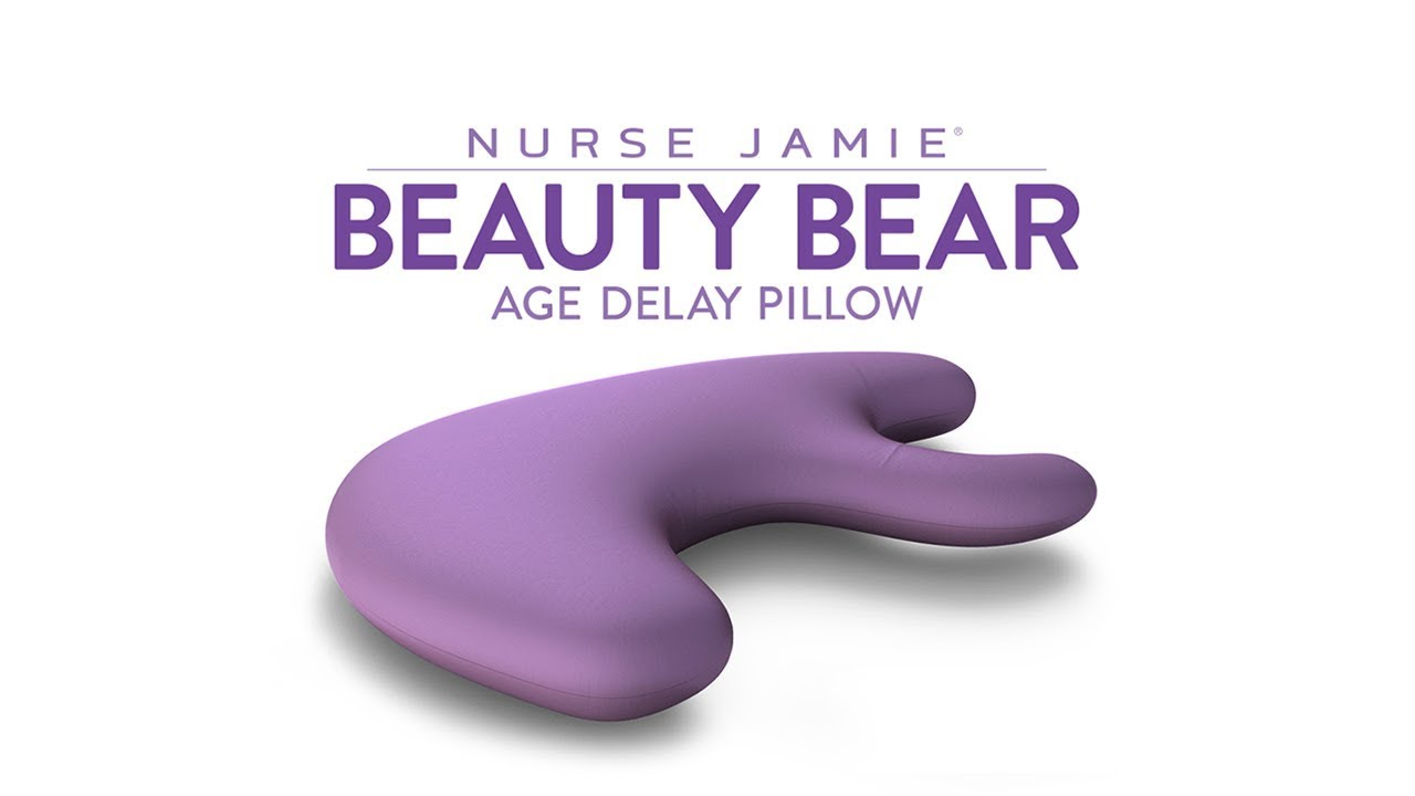 how to use the anti wrinkle beauty bear pillow nurse jamie