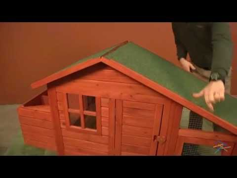 assembly video boomer & george deluxe chicken coop - youtube