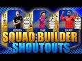 100K/200K/300K HYBRIDS SQUAD BUILDER SHOUTOUTS FIFA 18 ULTIMATE TEAM