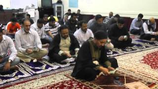 DUA-E-TAWASSUL recited by Maulana Syed Jan Ali Shah Kazmi (Hong Kong 9 March 2013)