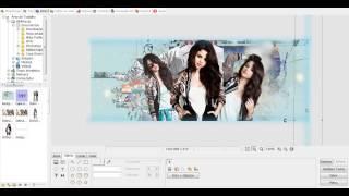 Tutorial   Como Fazer Uma Capa Para Facebook no Photoscape   Selena Gomez