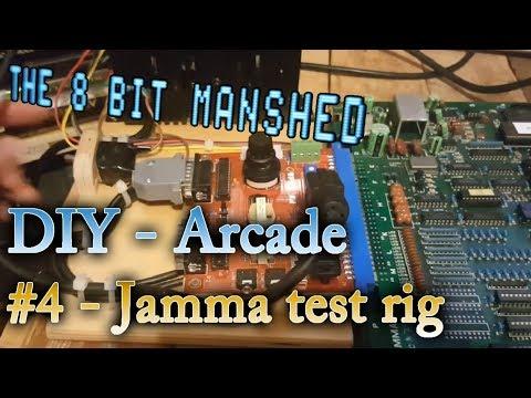 Arcade DIY #4 Building a jamma arcade board testing rig